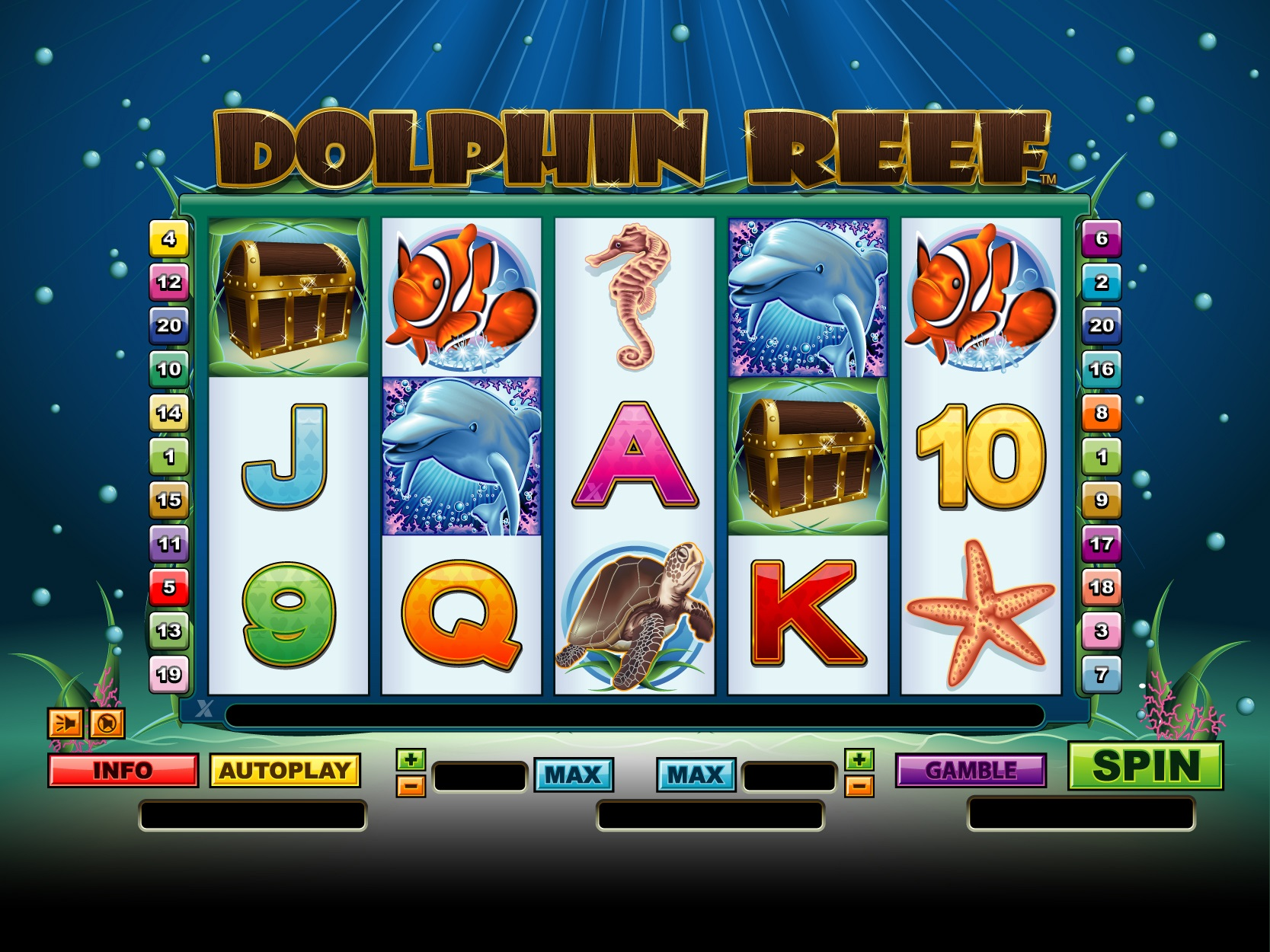 Dolphin Reef casino game