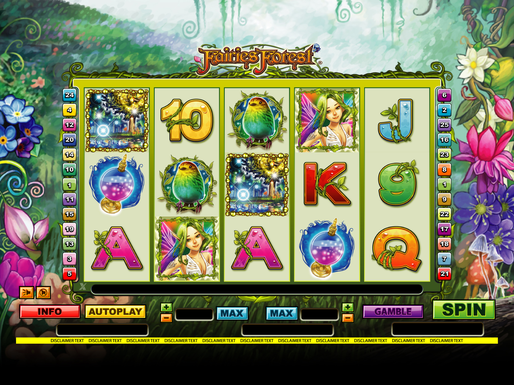 FairiesForest slot game