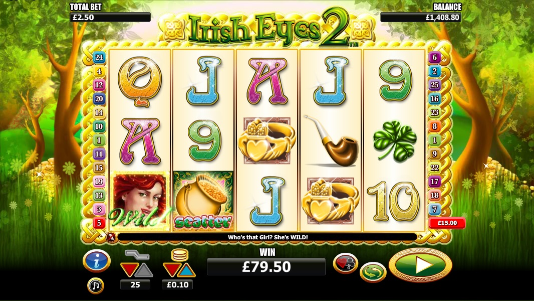 Irish Eyes2 casino game