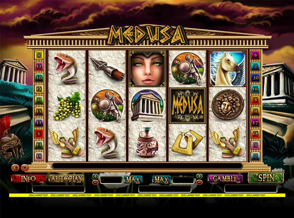 Medusa Reels slot game