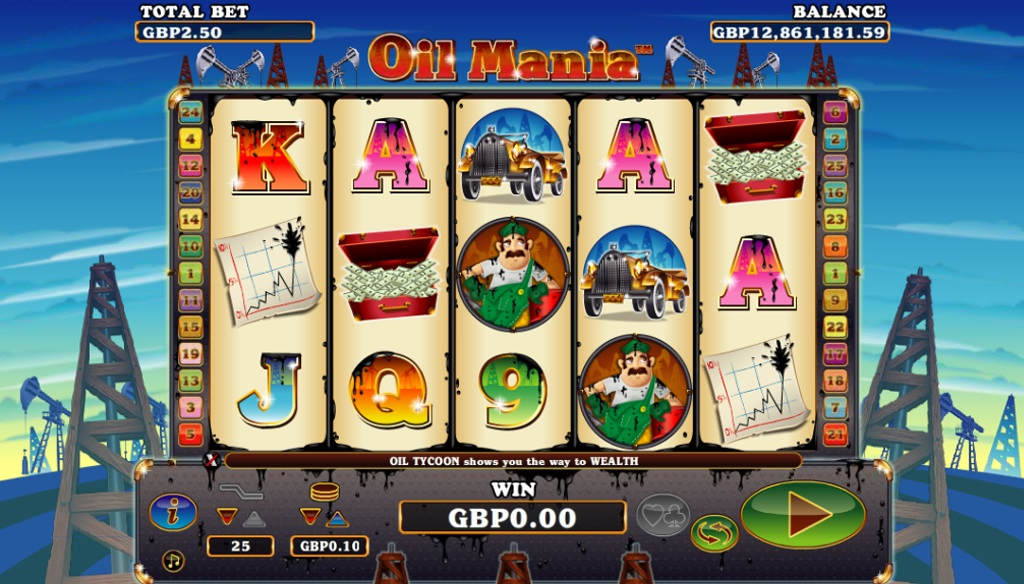Oil Mania NextGen casino slot