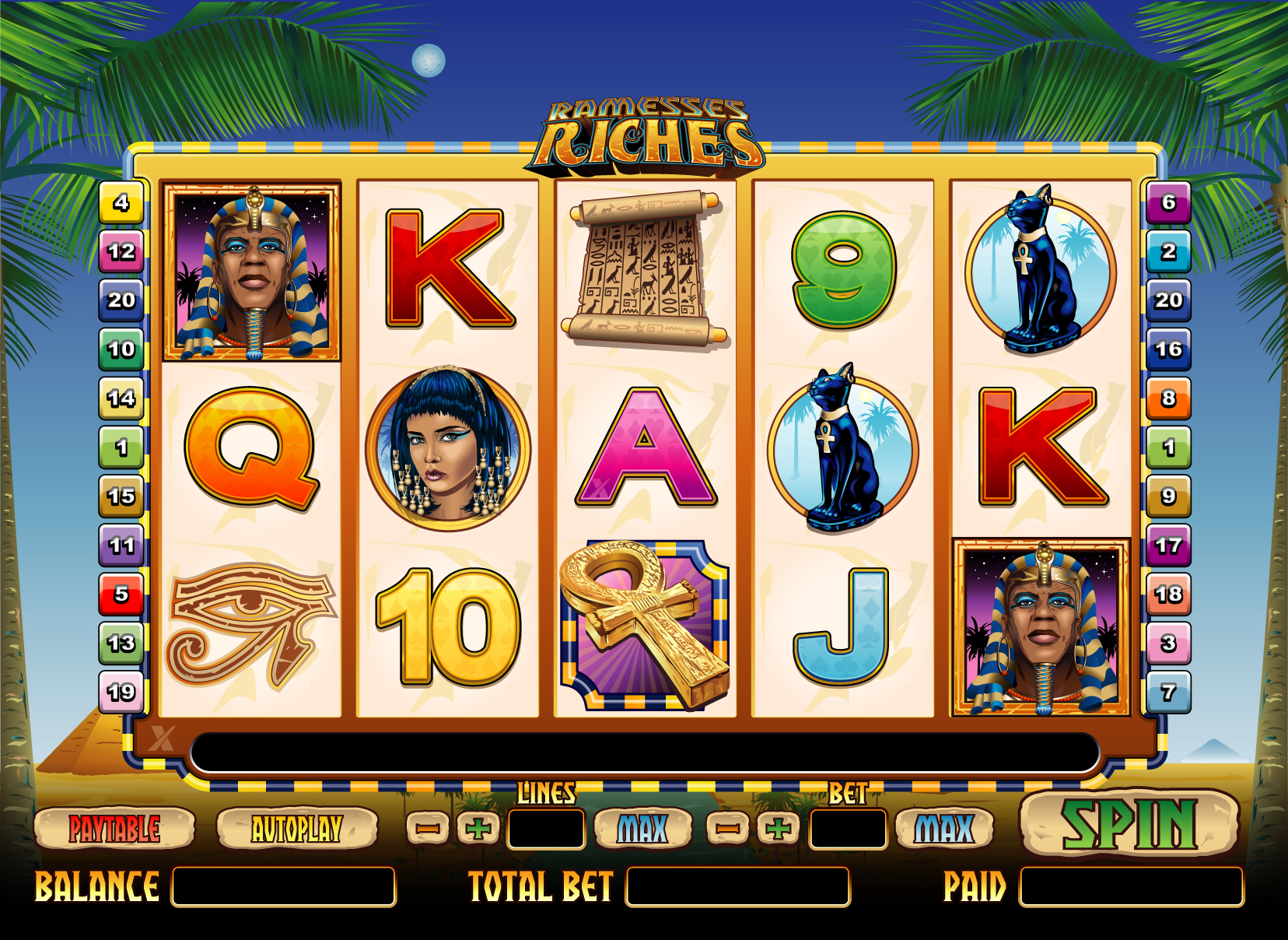 RamessesRiches slot