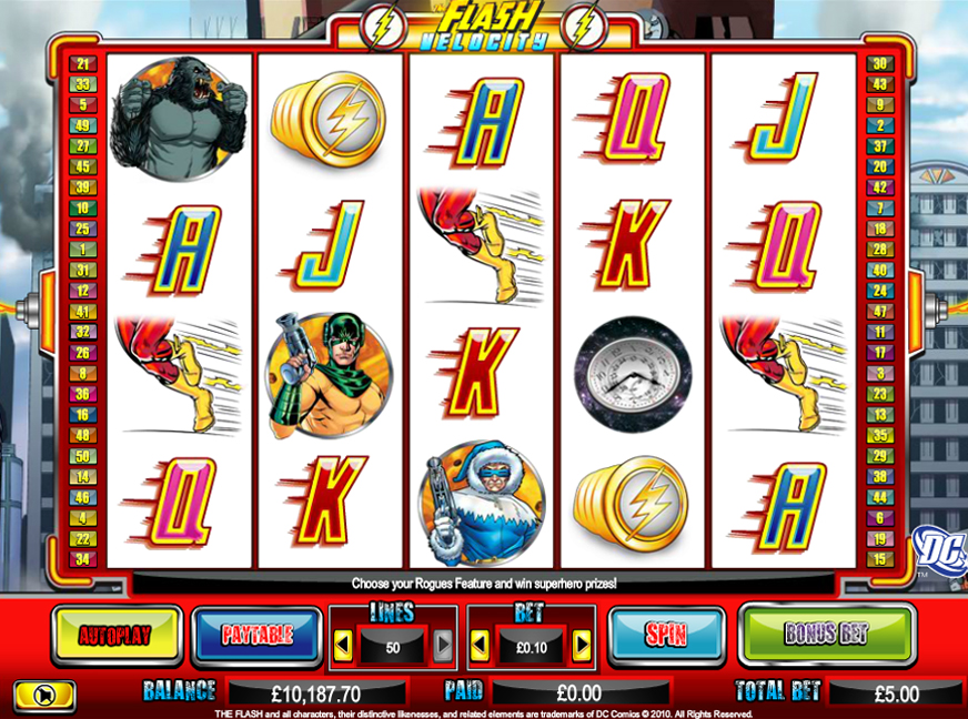 TheFlash NextGen casino game