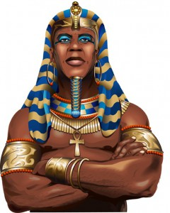 ramesses Riches nextgen gaming wild symbol